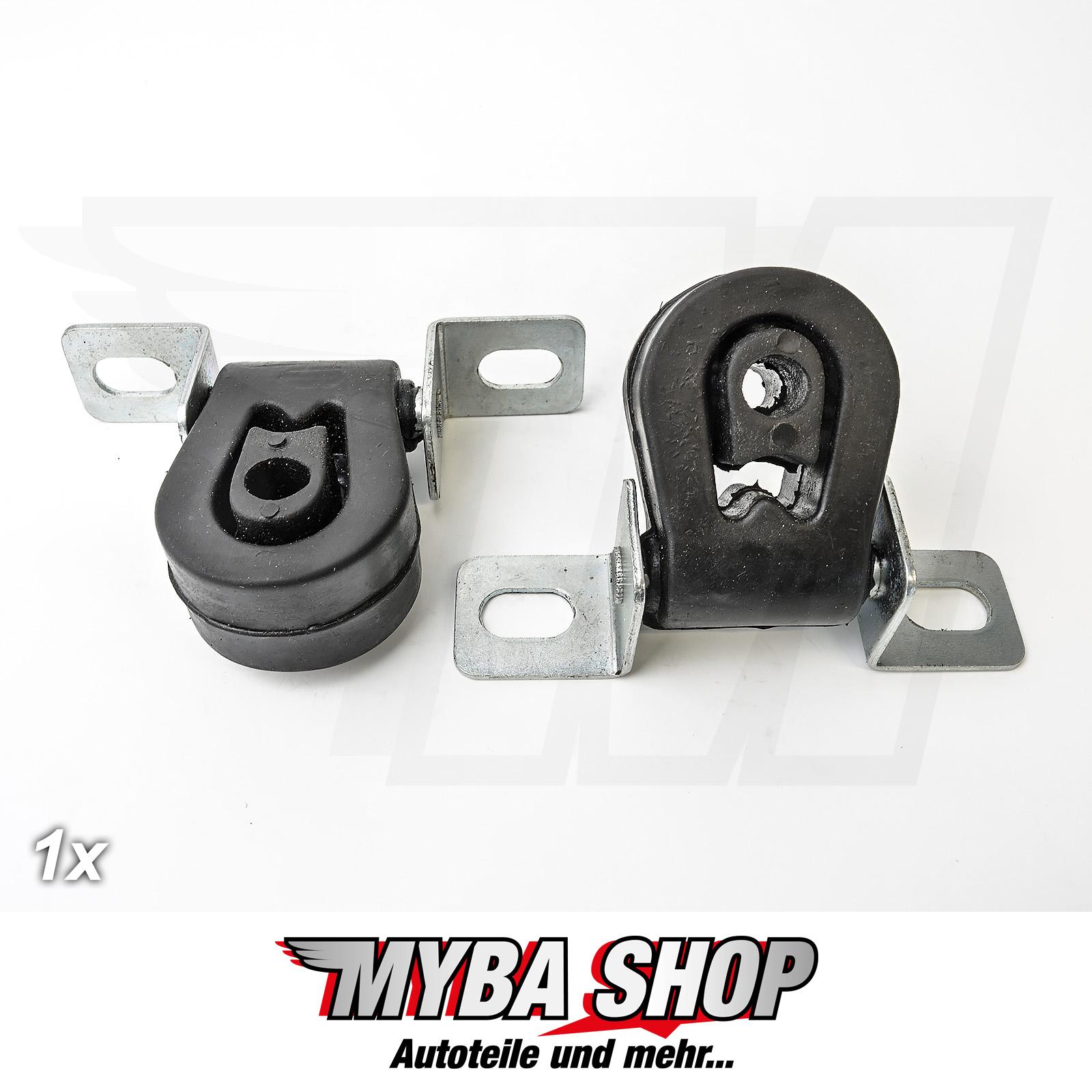 4 St Auspuff Gummi  Auspuffhalter Schalldämpfer passend für Audi A3