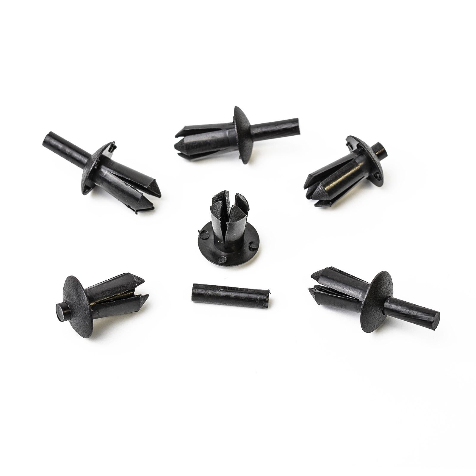 F10 51161881149 10 x Spreiznieten Clips Stoßstange für BMW 5