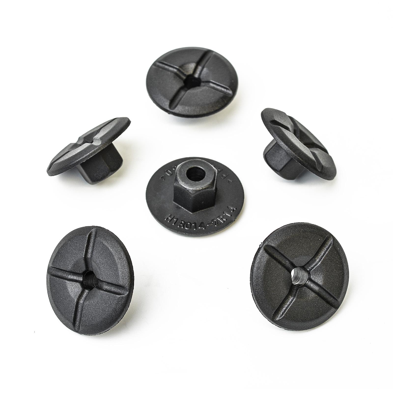 5x Kunststoff Mutter Befestigung Clips für Mercedes BMW 51711958025 A2019900050