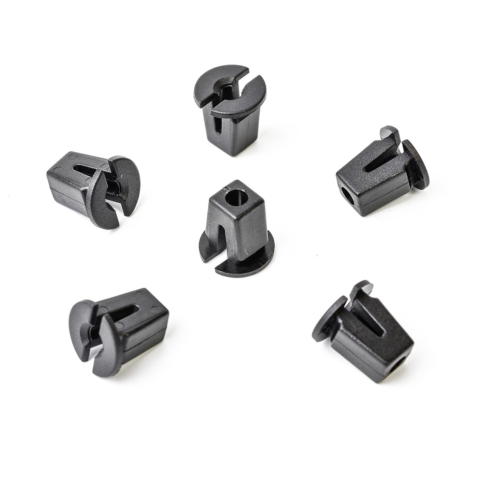 10x blanche SPREIZMUTTER Universel Clips pour VW Carrosserie1658275925