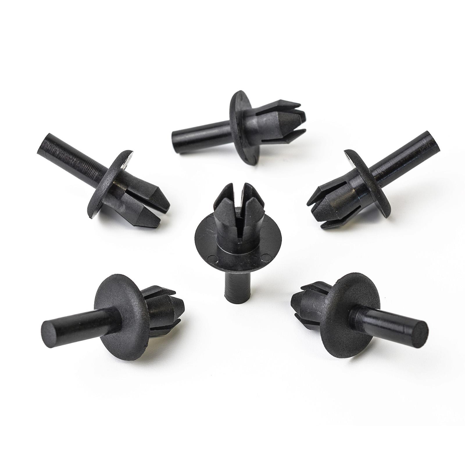 10xKunststoffspreizniete VERKLEIDUNGCLIPS Schnellbefestigung Volkswagen:N0385491