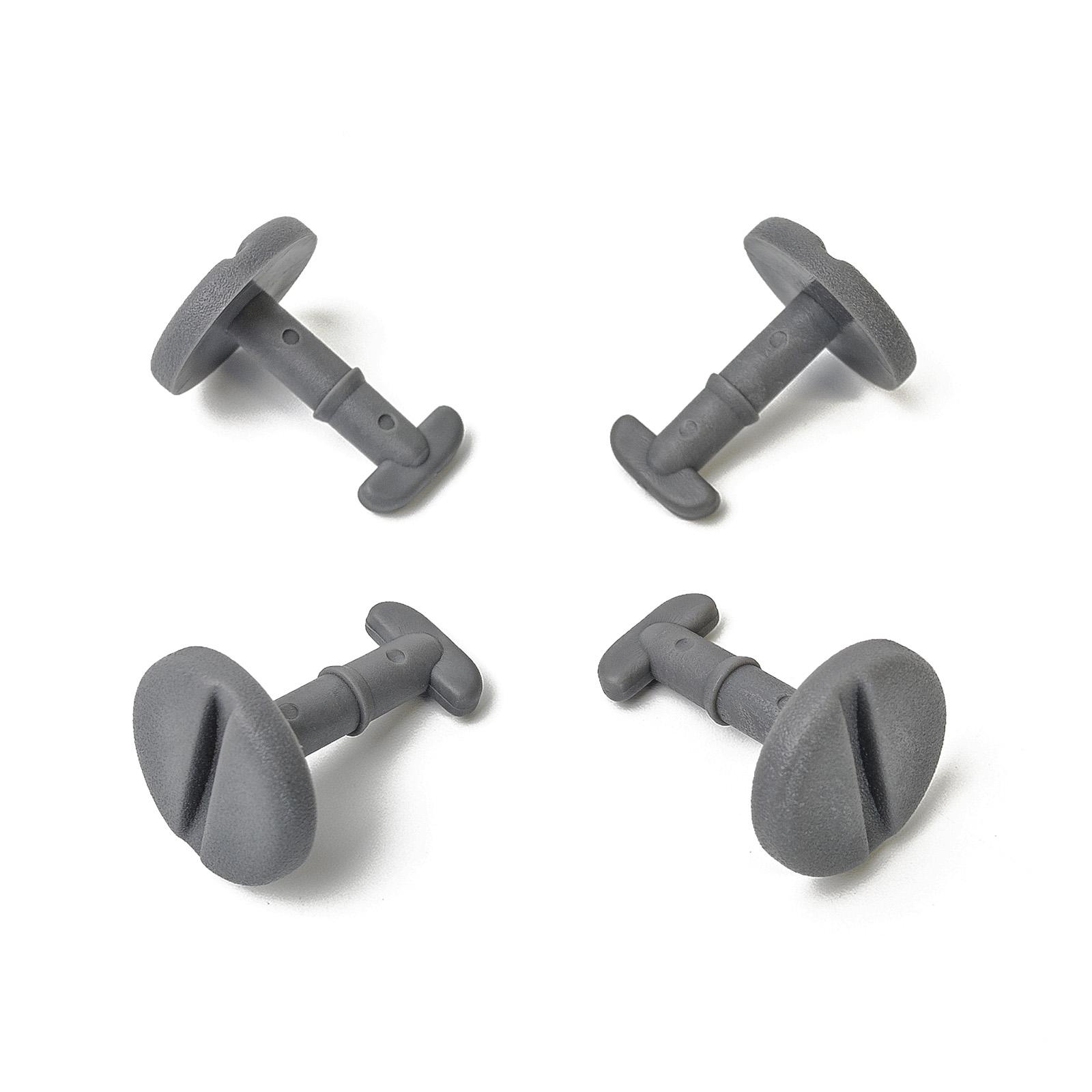 RING 15x CLIPS FUSSMATTEN DREHVERSCHLUSS OHNE SPERRE SCHWARZ BMW 82119410191