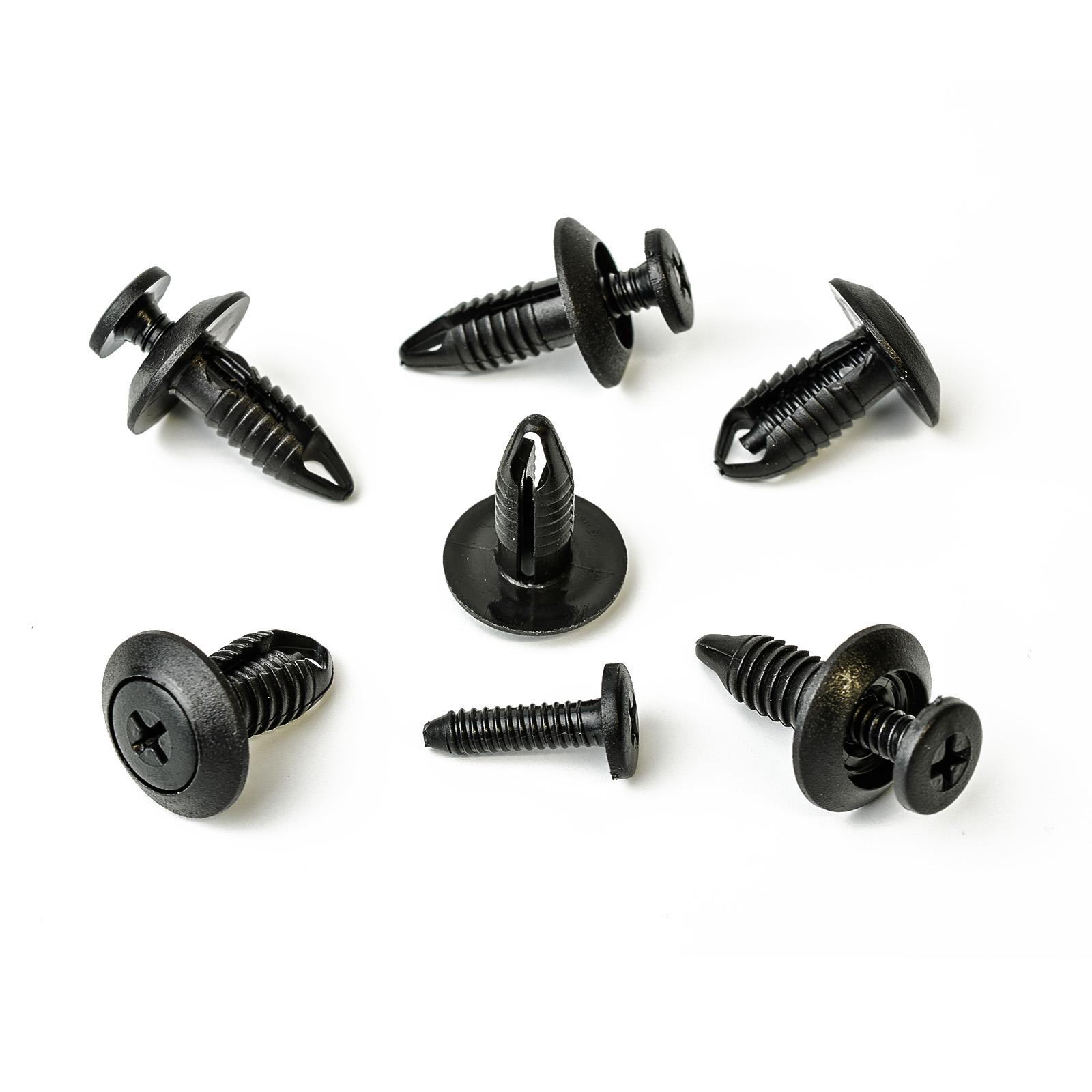 20x Verkleidung Clips Befestigung Klips Halter für Ford Mazda Suzuki schwarz 28A
