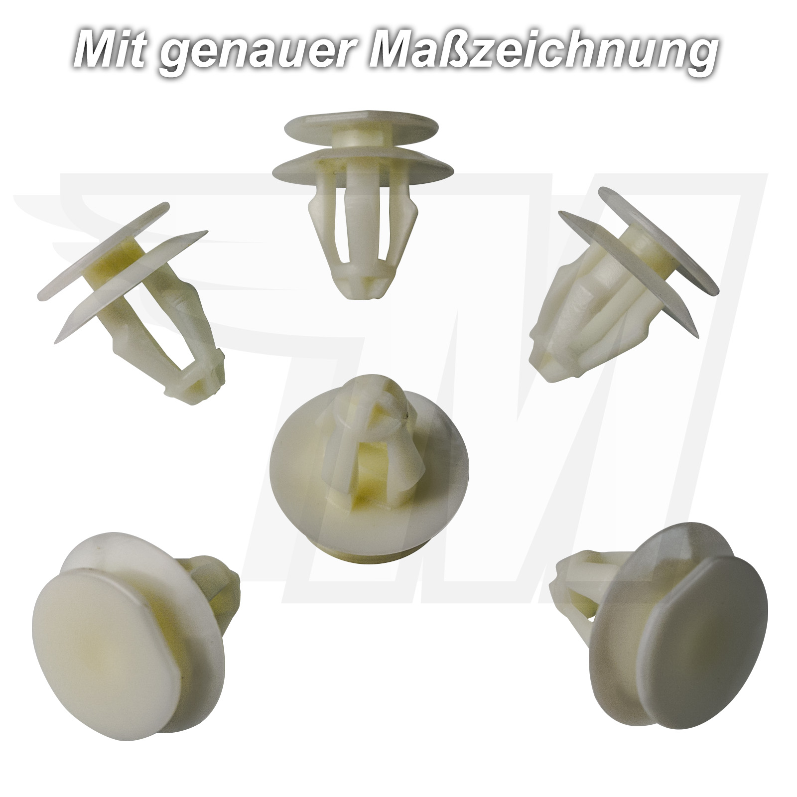 myba de S a0009908592/ 15/X revestimiento interior CLIPS de montaje