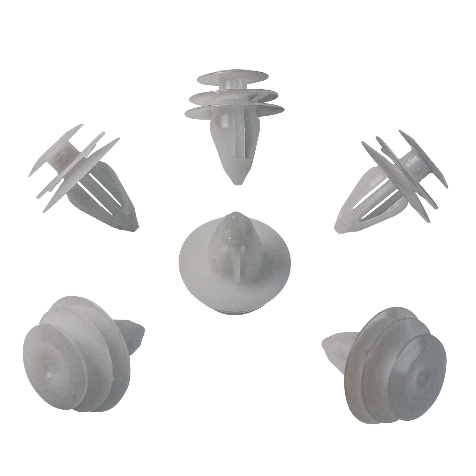 20x Tür Innenverkleidung Befestigungs Clips für VW6E0-837-732