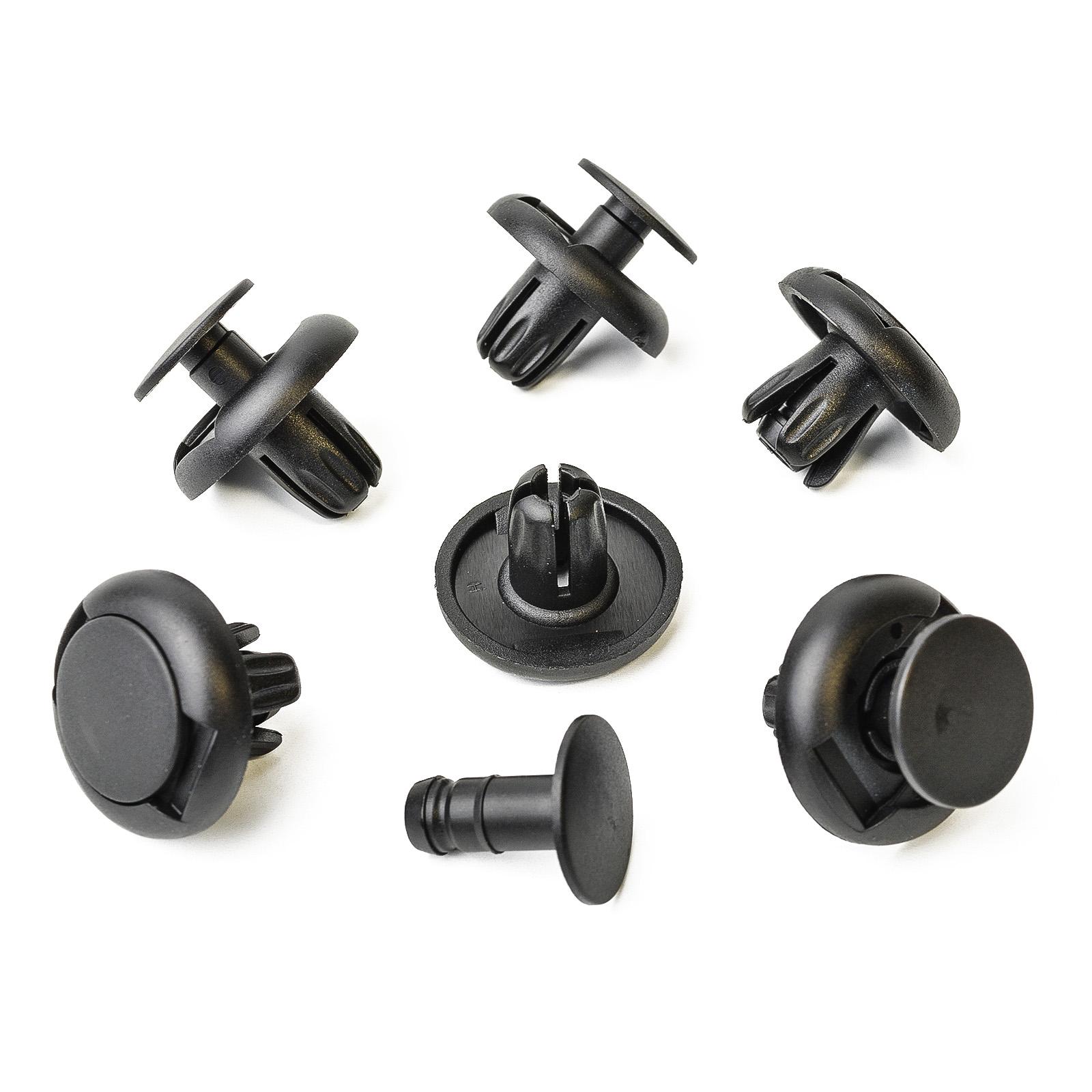 6 Gr/ö/ßen 100 St/ück Clip Verkleidung Auto Push Pin Nieten Sto/ßstange T/ür Kotfl/ügel Panel Retainer Sortiment