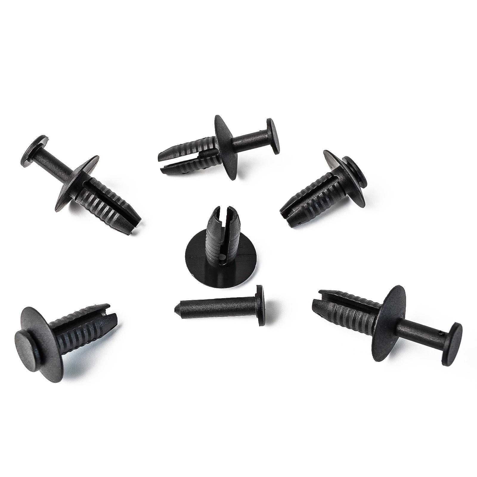 10x Clip Stoßstange Befestigung Spreizniete für BMW Audi Skoda uvm51111908077